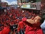 Chávez durante un acto en Guárico, el 24 de noviembre de 2006. Foto: Presidencia