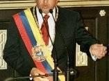 Su discurso ante la Asamblea Nacional el 2 de febrero de 1999. Foto: AFP