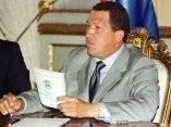 Chávez en una alocución. Foto de Archivo