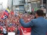 hChávez se dirige al pueblo de Venezuela. Foto: Prensa Miraflores