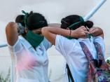 Estudiantes de medicina se preparan para las pesquisas. Foto: Abel Padrón Padilla/Cubadebate