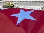Mi Bandera, protagonista de muchas luchas justas. Foto: Abel Padrón Padilla/Cubadebate