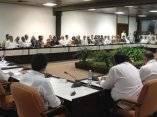 Ministros venezolanos ofrecen declaraciones a la prensa