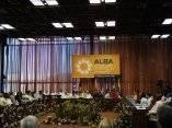 Cumbre de la Alianza Bolivariana para los Pueblos de Nuestra América (ALBA) en el Palacio de Convenciones, en La Habana, Cuba, el 13 de diciembre de 2009