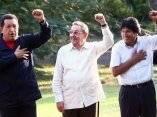 Foto oficial de la Cumbre de la Alianza Bolivariana para los Pueblos de Nuestra América (ALBA) en el Palacio de Convenciones, en La Habana, Cuba, el 13 de diciembre de 2009.