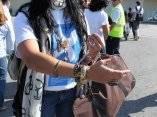 Olga Tañon en Cuba para participar en el Concierto Paz sin Fronteras (Foto JuanesLive)