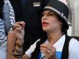 Olga Tañon llega a La Habana, Cuba