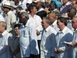 CUBA-LA HABANA-SANTA MISA EN   PLAZA DE LA REVOLUCION JOSE MARTI