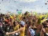 Festejos Rios de Janeiro, Brasil, sede de los Juegos Olímpicos del 2016