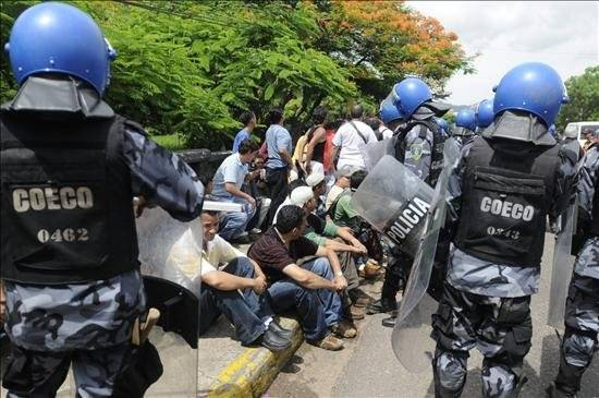 Honduras Crackdown Intensified