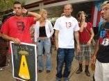 Calle 13 visitó la Escuela Internacional de Cine de San Antonio de los Baños