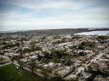 CUBA-CAMAGÜEY-LA CIUDAD DE NUEVITAS LUEGO DEL PASO DEL HURACÁN