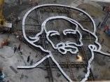 Escultura de Camilo Cienfuegos en la Plaza de la Revolución