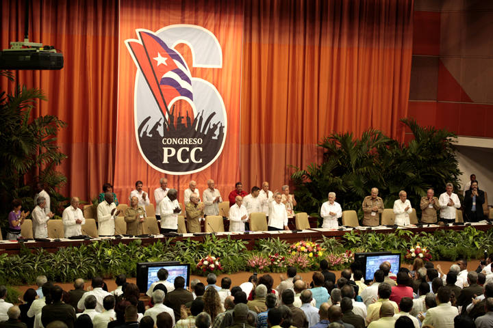 VI Congreso del Partido. Foto: Cubadebate