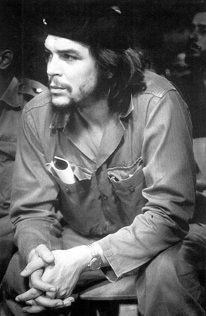 Ernesto Che Guevara. Foto tomada Cubadebate