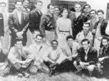 Fidel y el Che, en la carcel mexicana, 1956