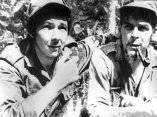 Raúl y el Che. 1958.