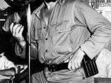 """El Che, Con los trabajadores de la refinería """"Ñico López"""", 1962"""