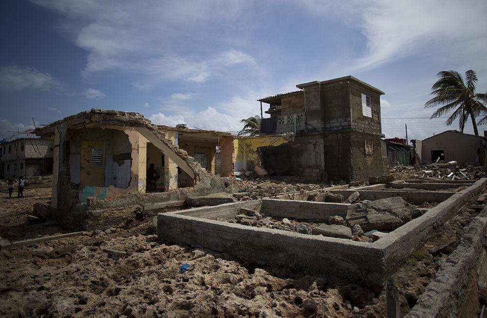 Los daños causado por Irma en Cojímar