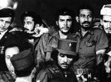 Juan Almeida Bosque y guerrilleros de la Sierra Maestra