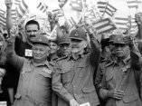 Los tres Comandantes de la Revolución.