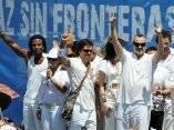 Comenzó el Concierto Paz sin Fronteras (Foto EFE)