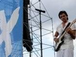 Juanes participa en el concierto Paz sin Fronteras (Fotos Roberto Morejón)