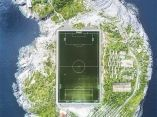 Campo de Fútbol en Henningsvær
