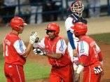 Juego Cuba - Taipei de China. Copa Mundial de Beisbol. 23 de septiembre de 2009.