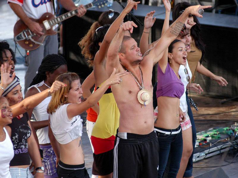 Calle 13 en concierto de la Habana, Cuba. Fotos Cubadebate