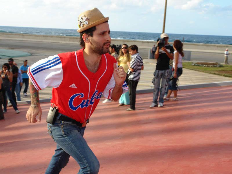 Visitante Calle 13 en concierto de la Habana, Cuba. Fotos Cubadebate