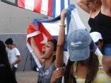 Concierto del Grupo Calle 13 en la Tribuna Antimperialista el 23 de marzo de 2010, La Habana, Cuba.