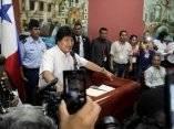 Evo Morales, presidente de Bolivia en Cumbre de los Pueblos. Foto: Ismael Francisco/Cubadebate.