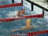El nadador cubano Hanser García