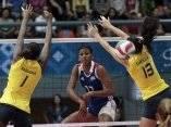 Gyselle Silva atacando