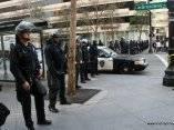 Estudiantes universitarios golpeados por Policia en California