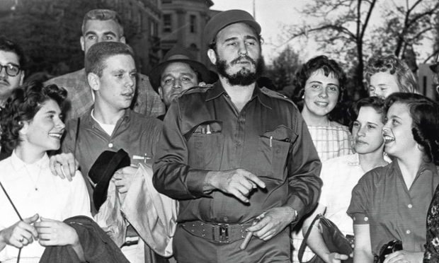Pictures on Fidel Castro Exhibit in New York