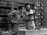 Fidel Castro con Ricardo Alarcón, Universidad Popular, 9 de abril de 1961