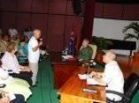 Fidel con Artistas e Intelectuales