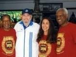 Las imágenes más recientes de Fidel