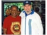 Fidel recibe a Pastores por la Paz