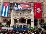 Participa Fidel en la celebración del 50 aniversario de la creación de los CDR. Foto: Roberto Chile
