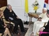Fidel y Benedicto XVI: Encuentro en La Habana.