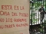 Graffitis en las calles de Tegucigalpa