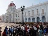 Homenaje a Juan Almeida Bosque en Cienfuegos