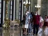 Sepelio de Eusebio Leal.Foto: Ismael Francisco/ Cubadebate