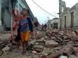 Gibara, Holguin, destrucción producida por el Huracán Ike