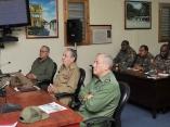 CUBA-SE REÚNE RAÚL EN GRANMA ANTE AMENAZA DEL HURACÁN MATTHEW