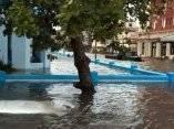 Hotel Presidente. Calzada y G. Ciudad de La Habana. Huracán Wilma