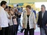Los presidentes de Cuba y Brasil inauguran Terminal de Contenedores de Mariel.